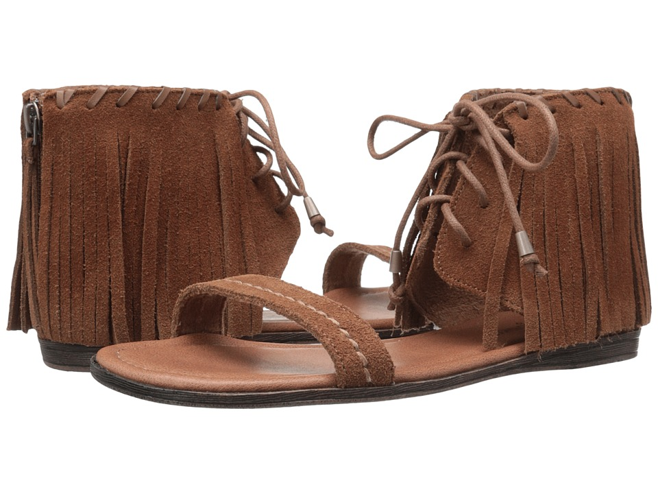 Minnetonka - Havana (Dusty Brown Suede) Women's Sandals