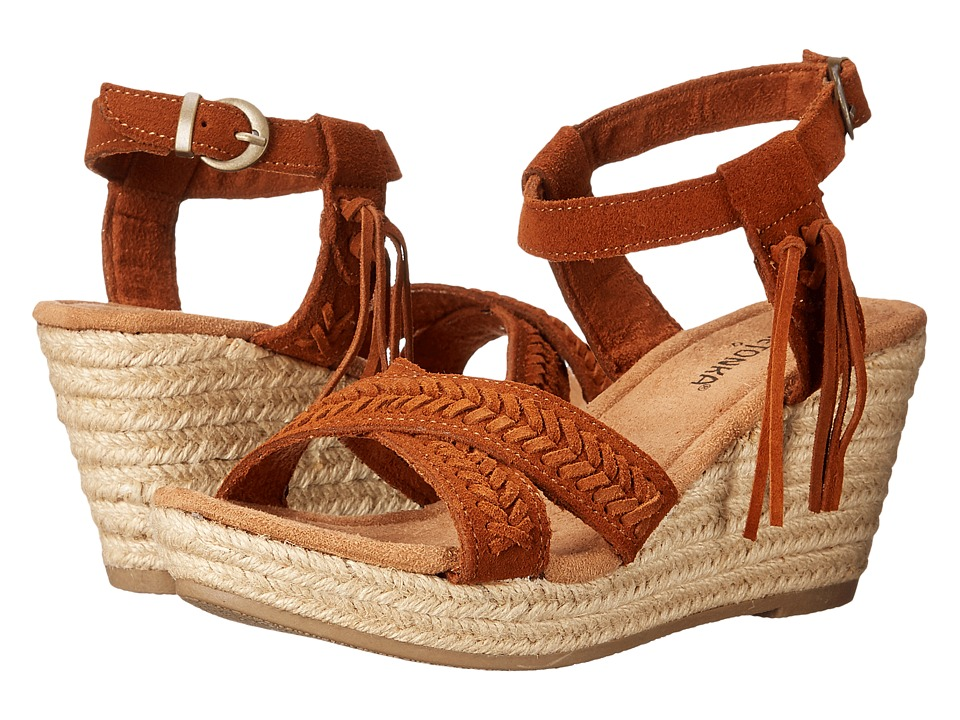 Minnetonka Naomi (Brown Suede) Women