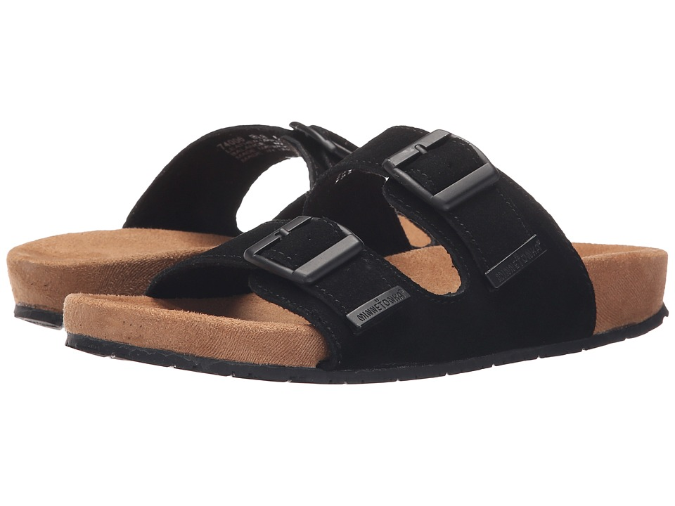 Minnetonka - Gypsy (Black Suede) Women's Sandals