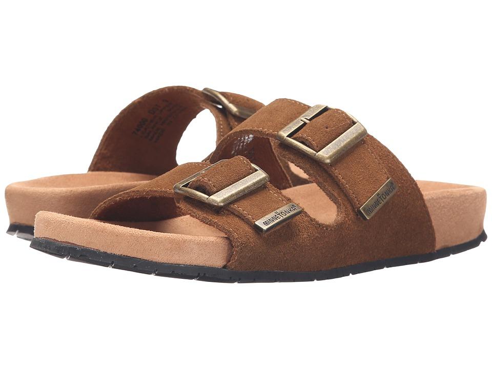 Minnetonka - Gypsy (Dusty Brown Suede) Women's Sandals