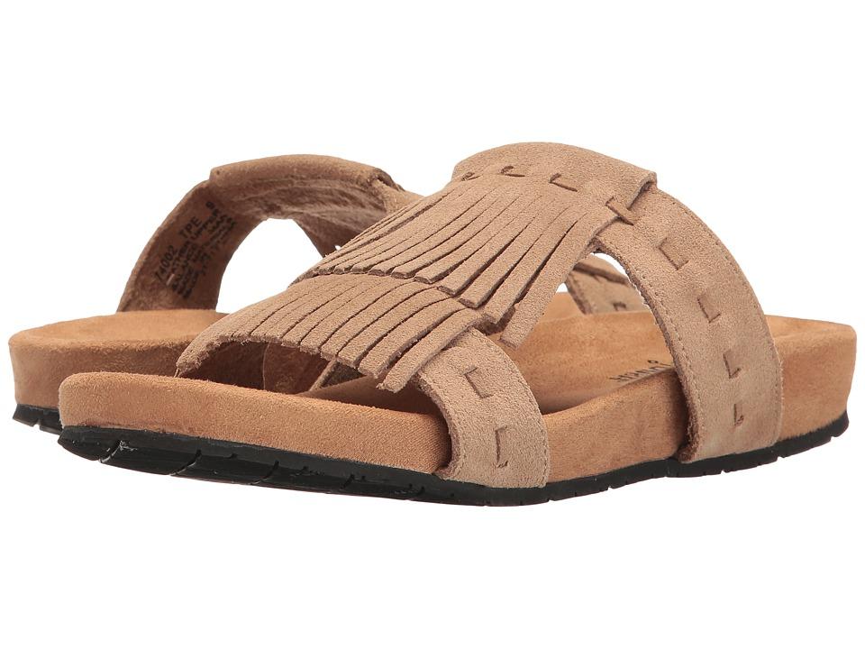 Minnetonka - Daisy (Taupe Suede) Women's Sandals
