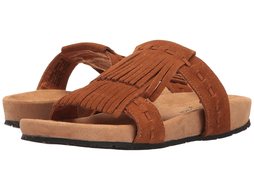 Minnetonka - Daisy (Brown Suede) Women's Sandals