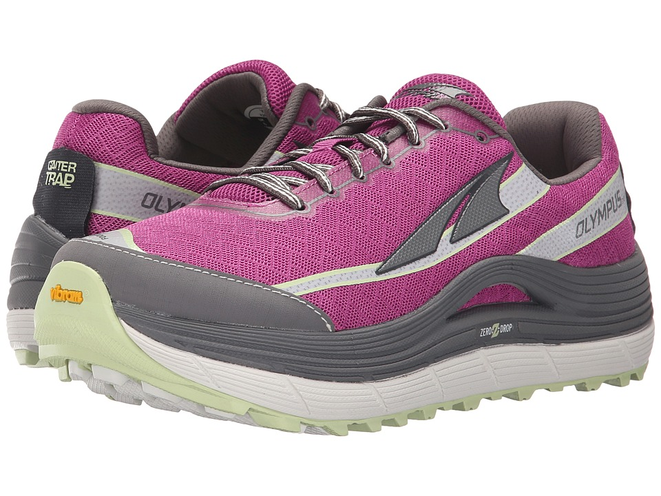 Altra Footwear - Olympus 2 (Orchid/Gray) Women's Running Shoes