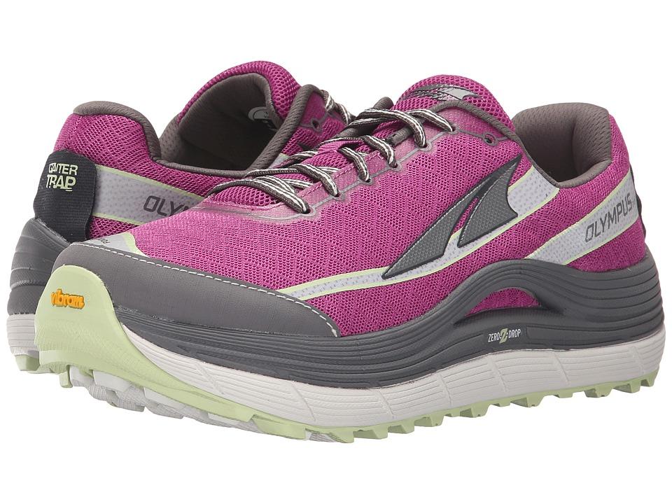 Altra Footwear Olympus 2 (Orchid/Gray) Women