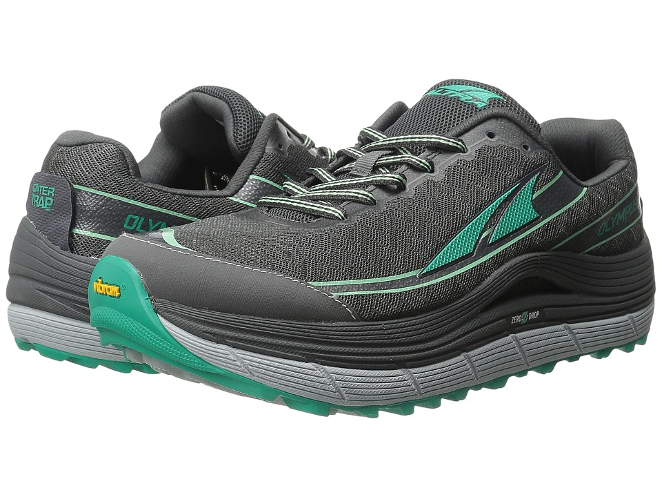 Altra Footwear - Olympus 2 (Charcoal/Peacock) Women's Running Shoes