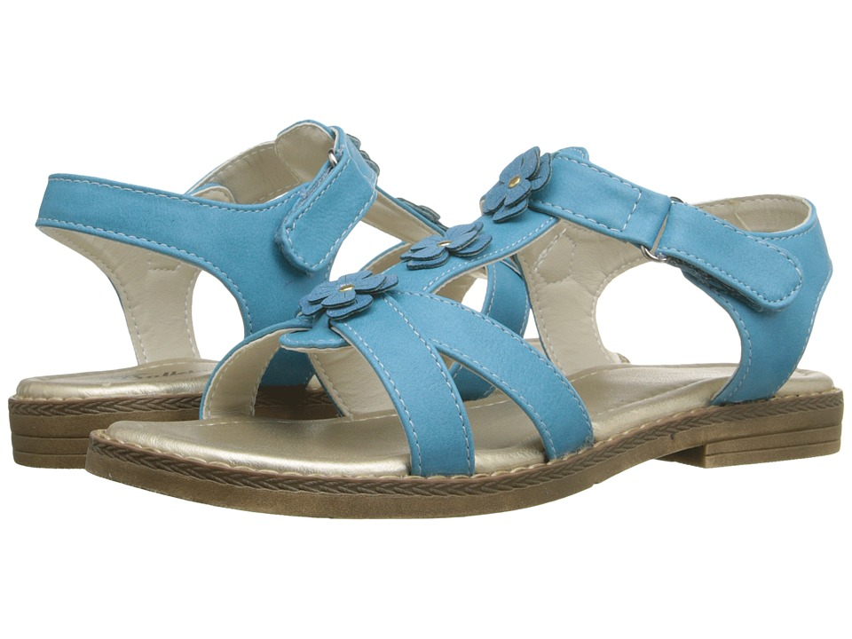 Jumping Jacks Kids - Tamera (Toddler/Little Kid) (Cool Blue) Girls Shoes