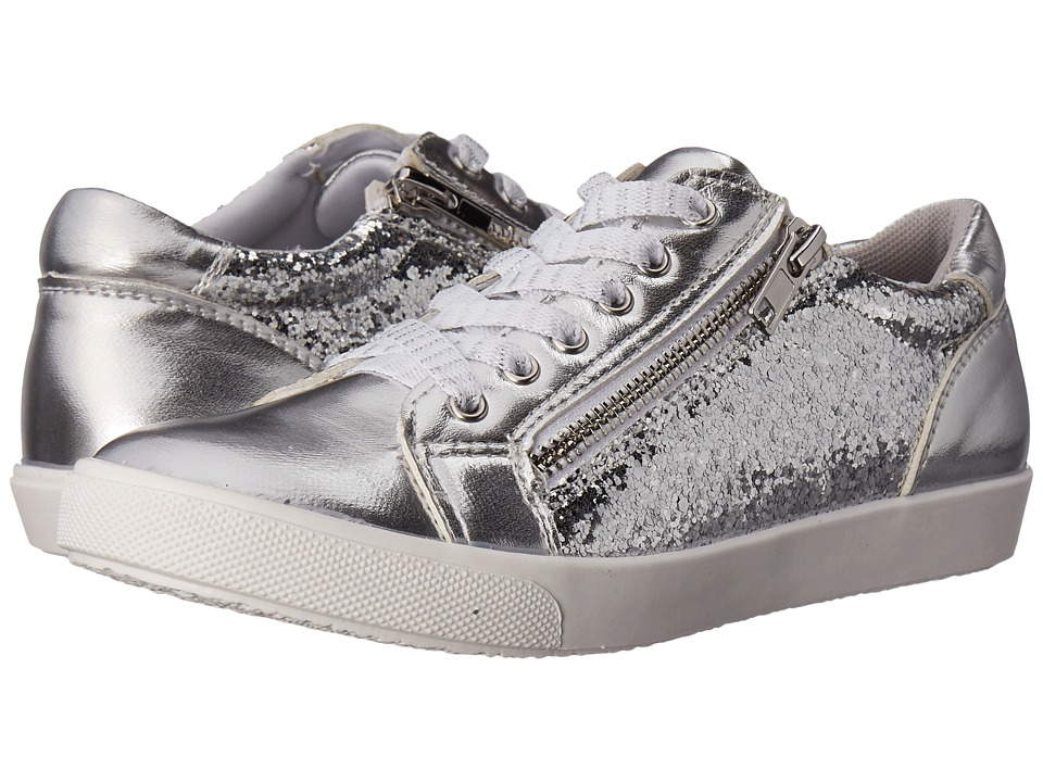Jumping Jacks Kids - Beth (Toddler/Little Kid) (Silver Metallic) Girls Shoes