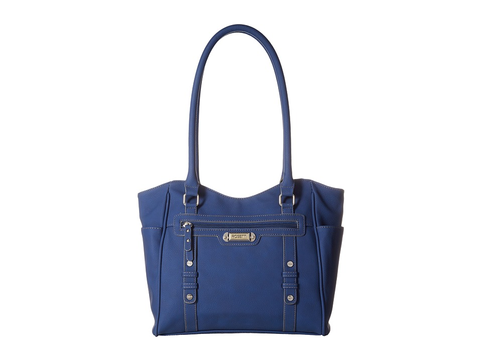 Rosetti - Let's Face It Double Handle Purse (Cobalt) Shoulder Handbags