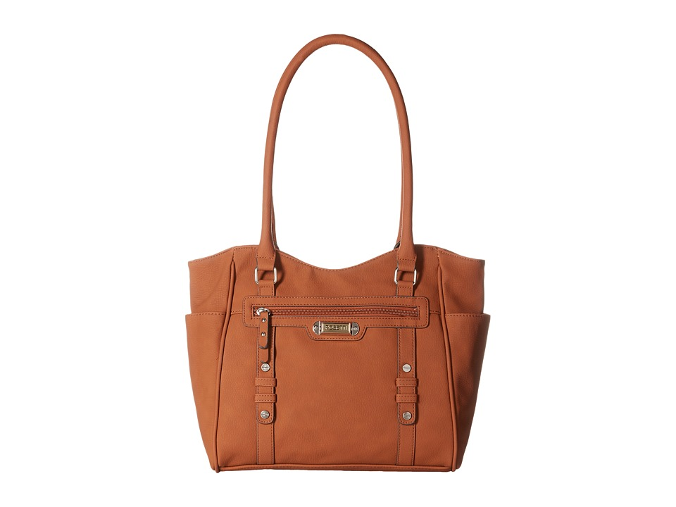 Rosetti - Let's Face It Double Handle Purse (Chestnut) Shoulder Handbags