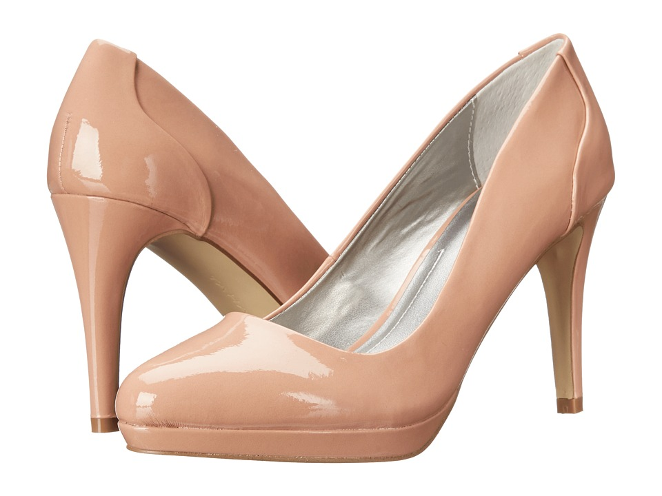 Tahari - Party (Pink Linen Patent) High Heels