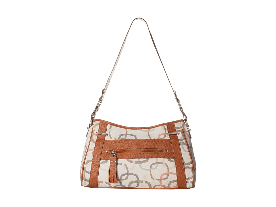 Rosetti - At First Glance Hobo (Sandstone Multi Print) Shoulder Handbags