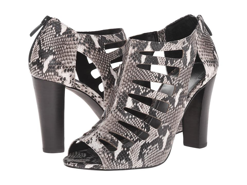 Tahari - Lindy (Black/White Snake Print) High Heels