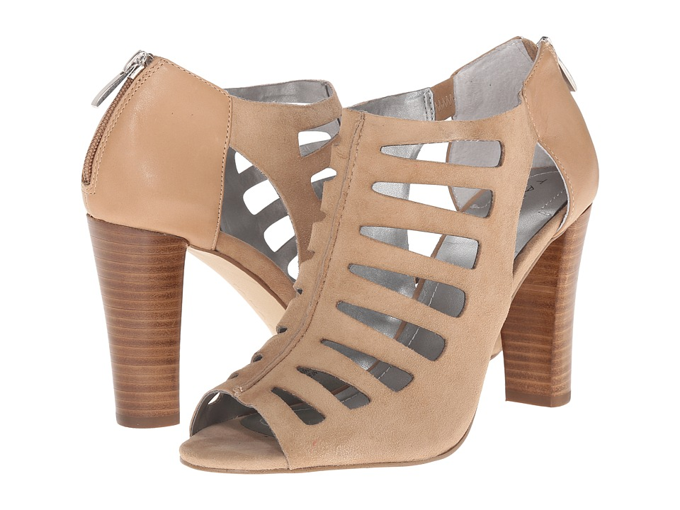 Tahari - Lindy (Fawn Suede/Calf) High Heels