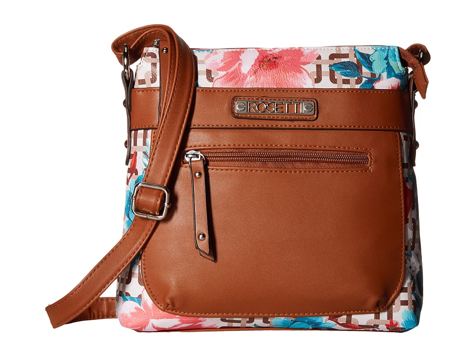 Rosetti - Josephine Mini Crossbody (Curious Floral Print) Cross Body Handbags