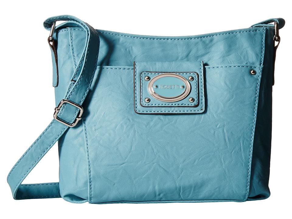 Rosetti - Matilda Mini Crossbody (Denim) Cross Body Handbags