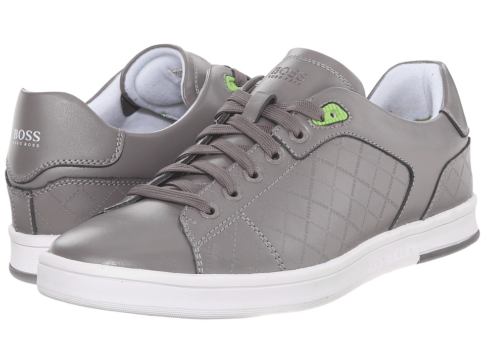 BOSS Hugo Boss - Ray Check (Medium Grey) Men's Lace up casual Shoes