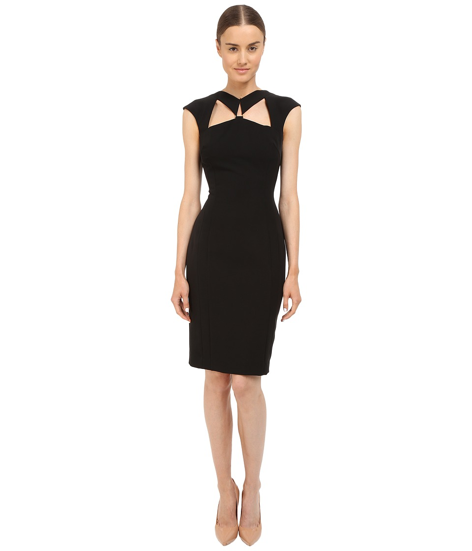 Versace Collection - Cutout Dress (Black) Women's Dress