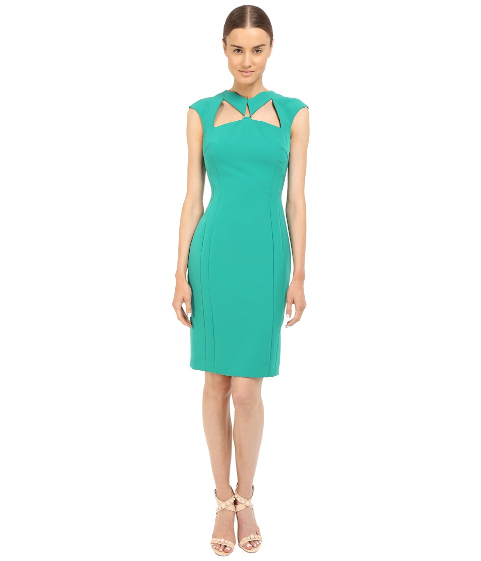 Versace Collection - Emerald Cutout Dress (Green) Women's Dress