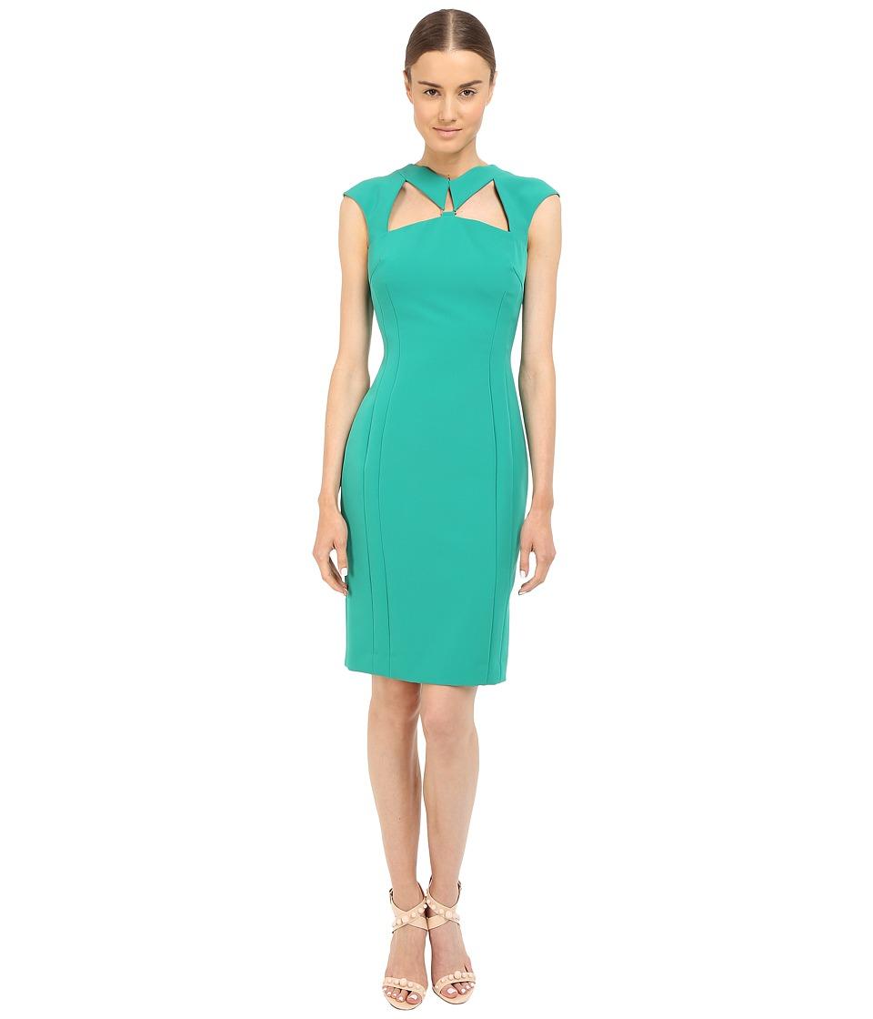 Versace Collection - Emerald Cutout Dress (Green) Women's Dress