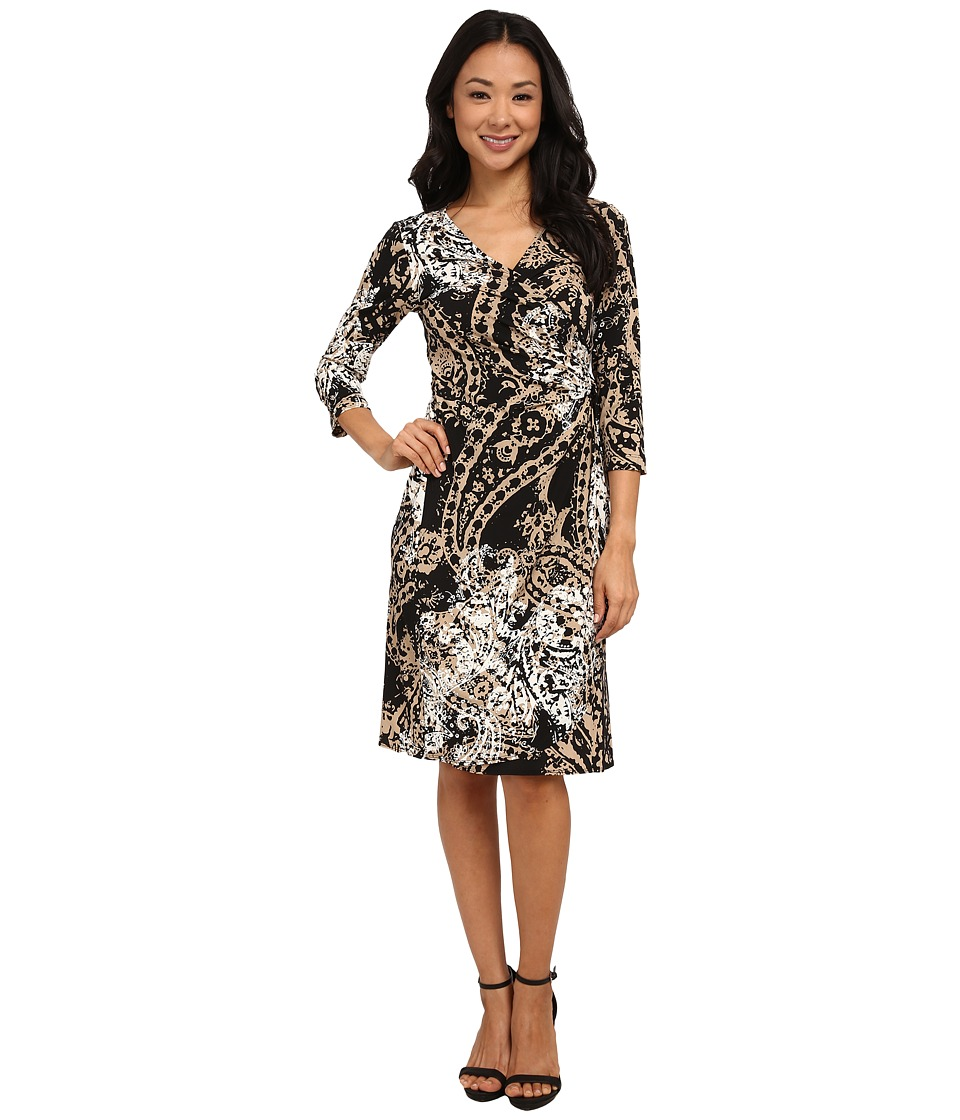 rsvp - Lecce Dress (Brown Multi) Women's Dress