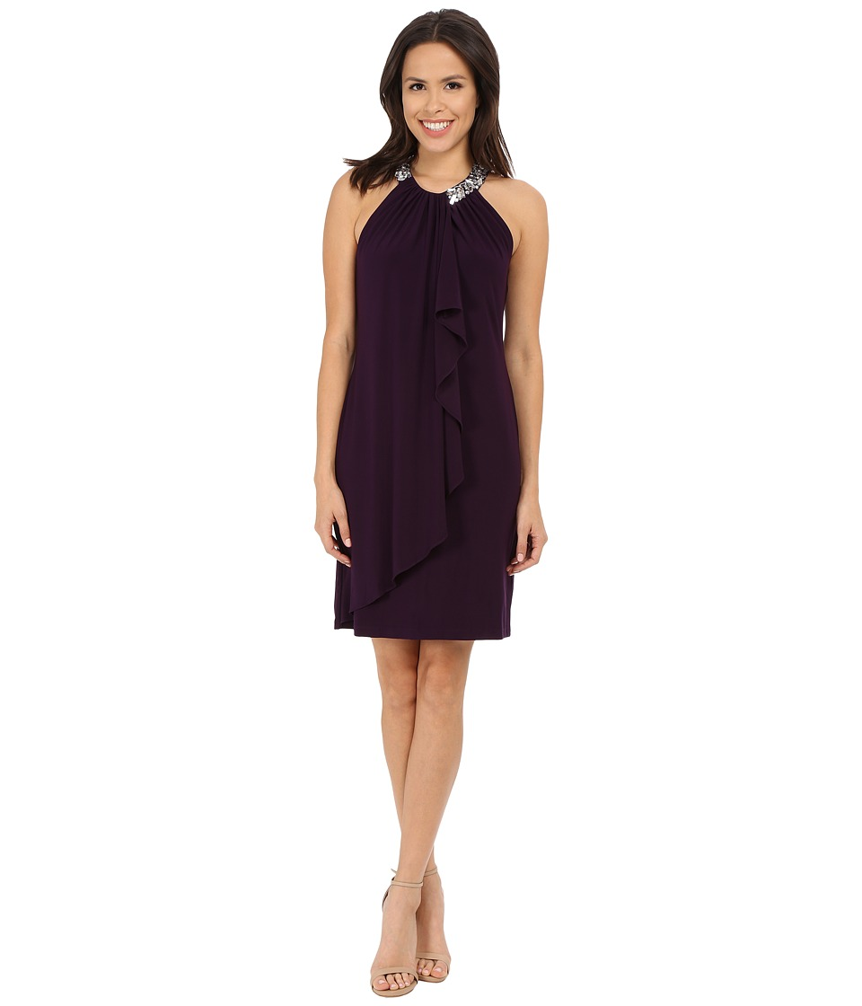 rsvp - Barletta Dress (Eggplant) Women's Dress