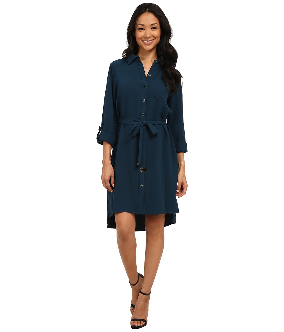 rsvp - Milan Dress (Teal) Women's Dress