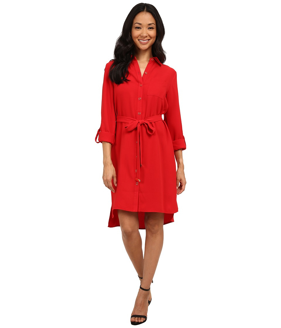 rsvp - Milan Dress (Crimson) Women's Dress