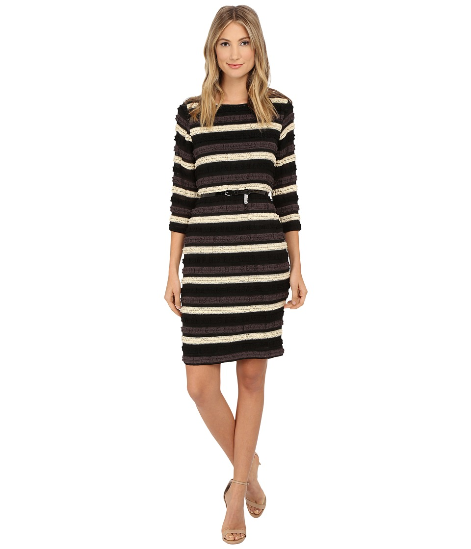 rsvp - Genoa Dress (Black/Ivory) Women's Dress