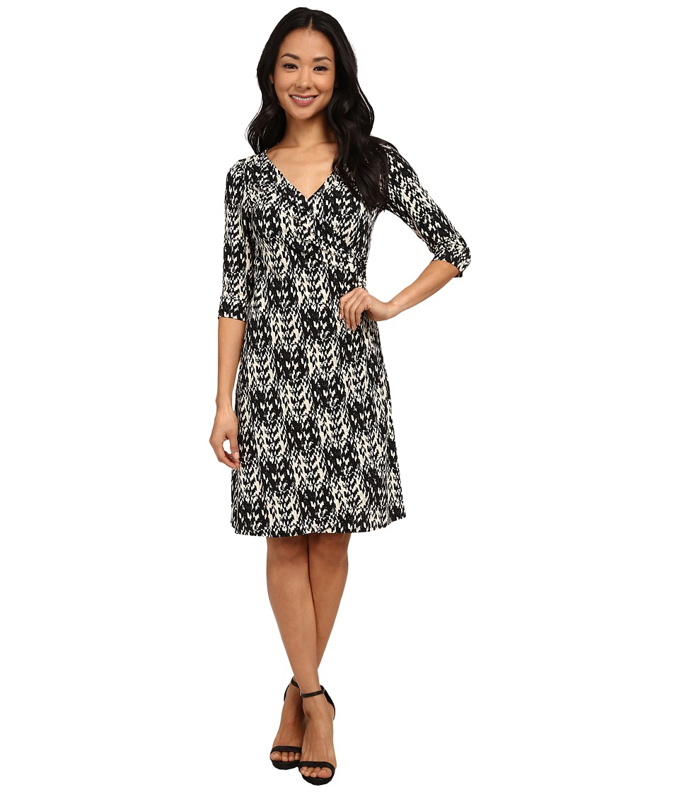 rsvp - Emilia Dress (Black/White) Women's Dress