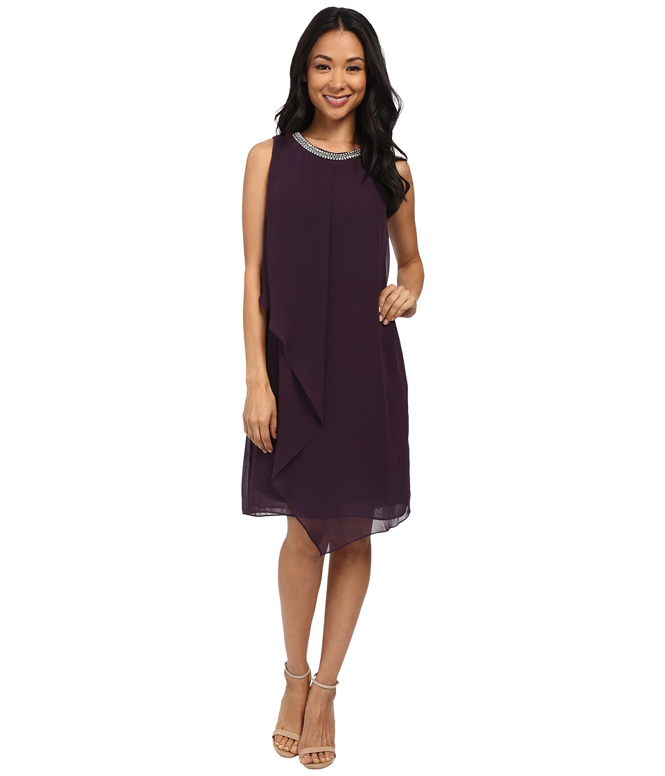 rsvp - Ancona Dress (Plum) Women's Dress