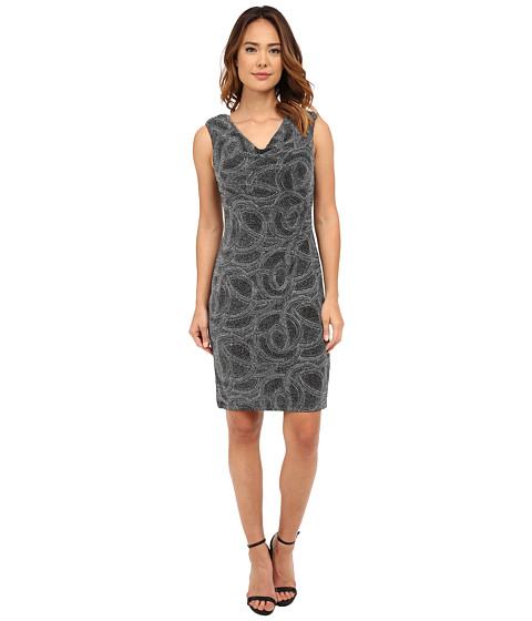 rsvp - Cessna Dress (Black/Silver) Women's Dress