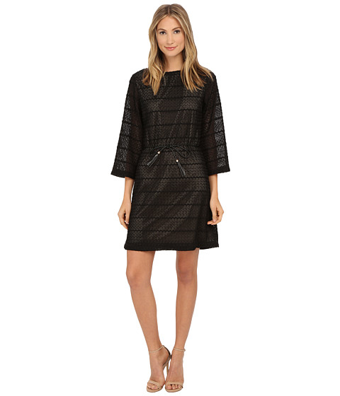 rsvp - Bari Dress (Black/Nude) Women's Dress