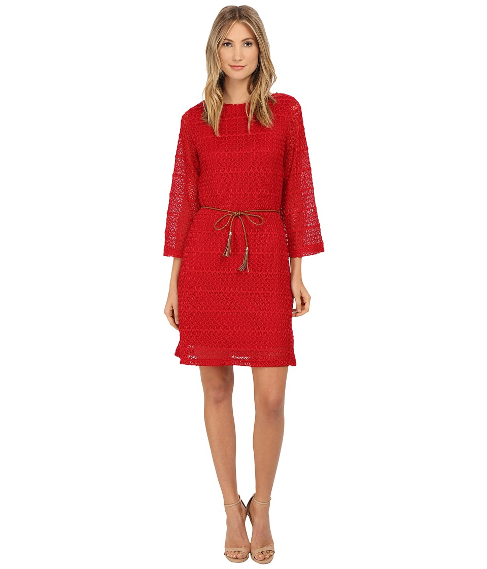 rsvp - Bari Dress (Crimson) Women's Dress