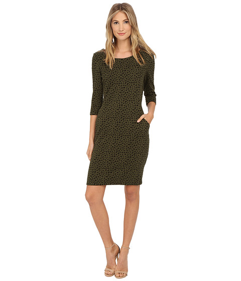 rsvp - Versilla Dress (Forrest/Black) Women