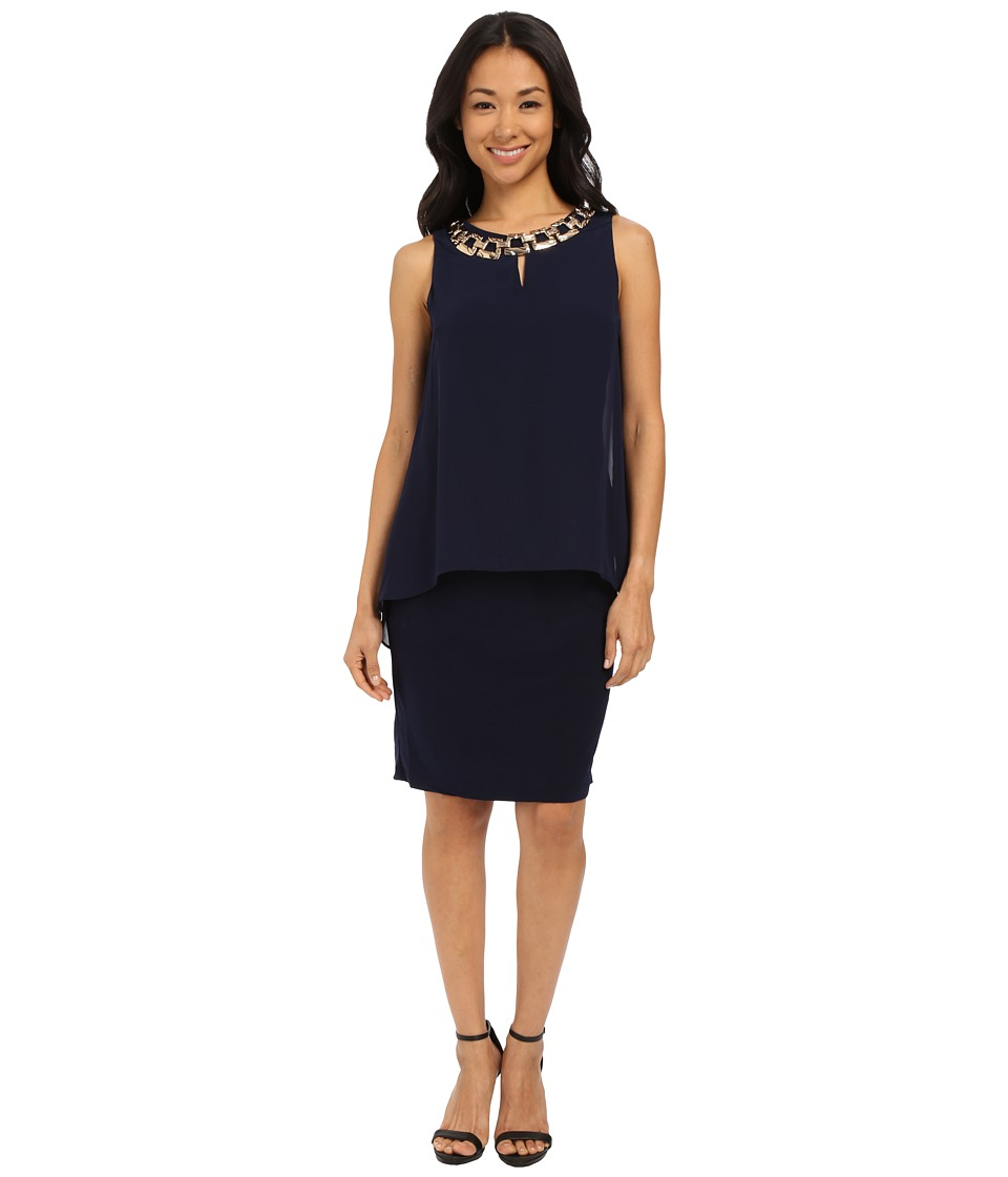 rsvp - Lucca Dress (Navy) Women's Dress