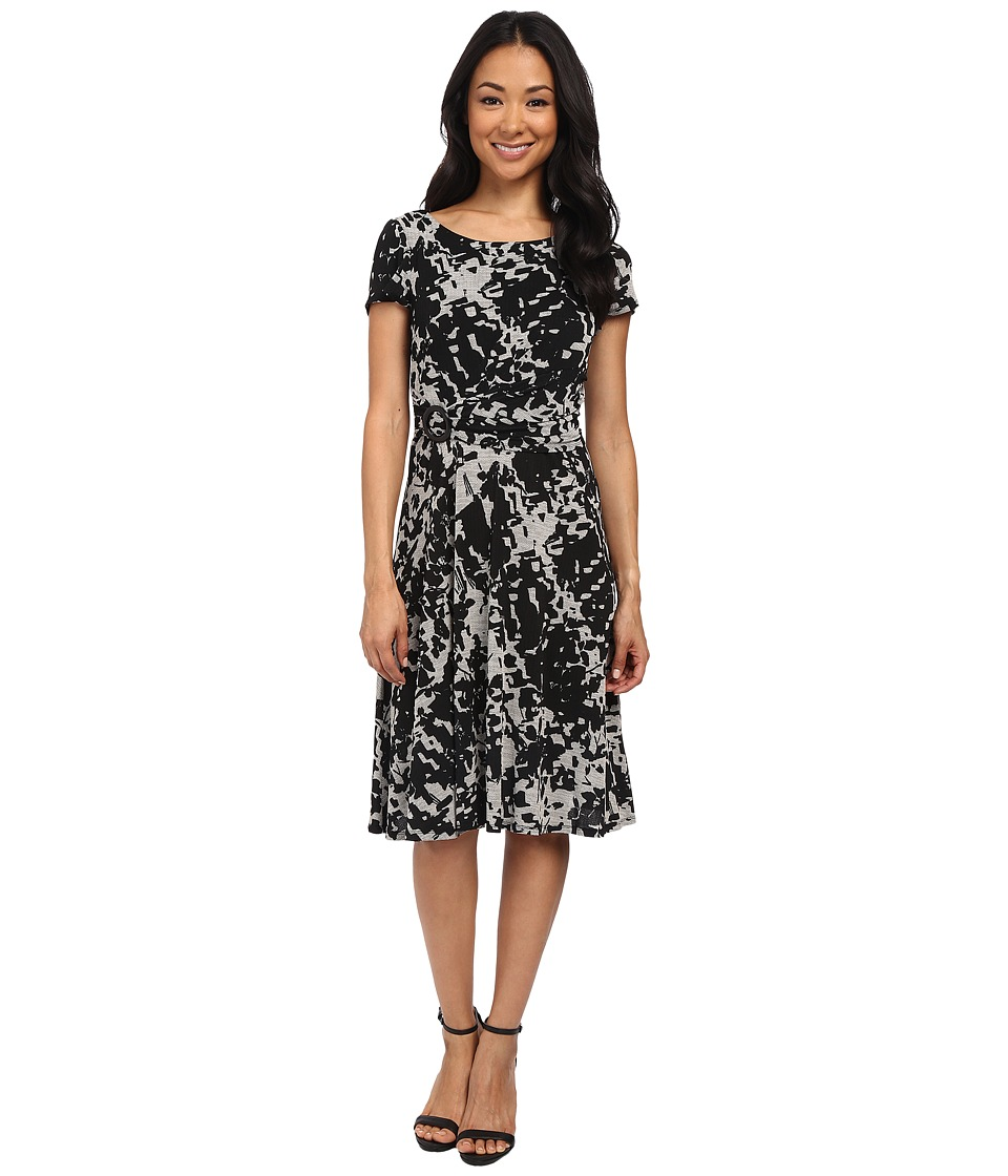 rsvp - Matera Dress (Black/Ivory) Women's Dress