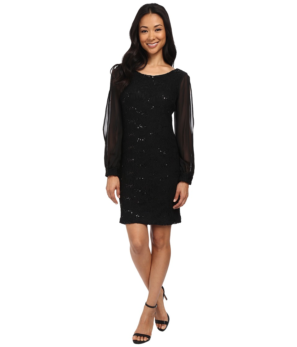 rsvp - Parma Dress (Black) Women's Dress