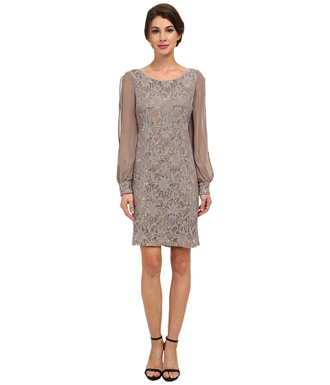 rsvp - Parma Dress (Taupe) Women