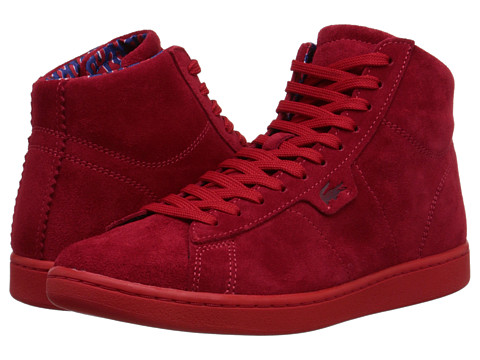 Lacoste - Broadwick Hi CP (Red) Men's Shoes