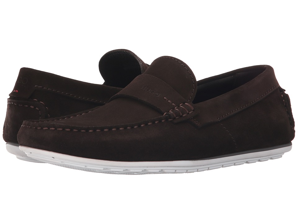 BOSS Hugo Boss - C-Traveso by HUGO (Dark Brown) Men's Slip on Shoes