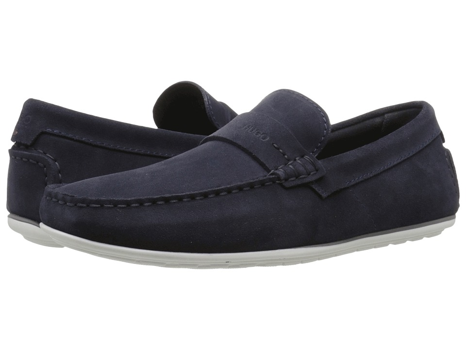 BOSS Hugo Boss - C-Traveso by HUGO (Navy) Men's Slip on Shoes