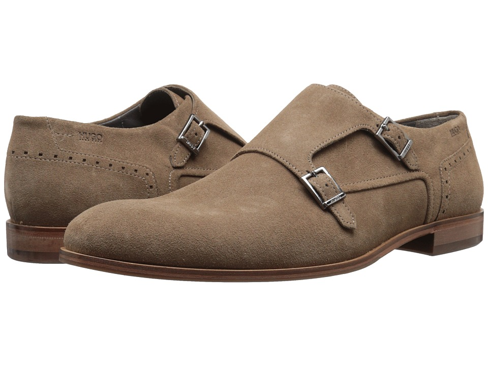 BOSS Hugo Boss - C-Modemok by HUGO (Dark Beige) Men's Monkstrap Shoes