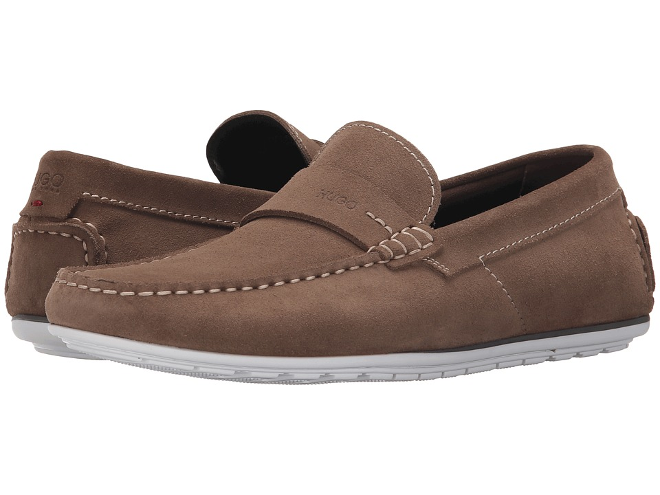 BOSS Hugo Boss - C-Traveso by HUGO (Dark Beige) Men's Slip on Shoes