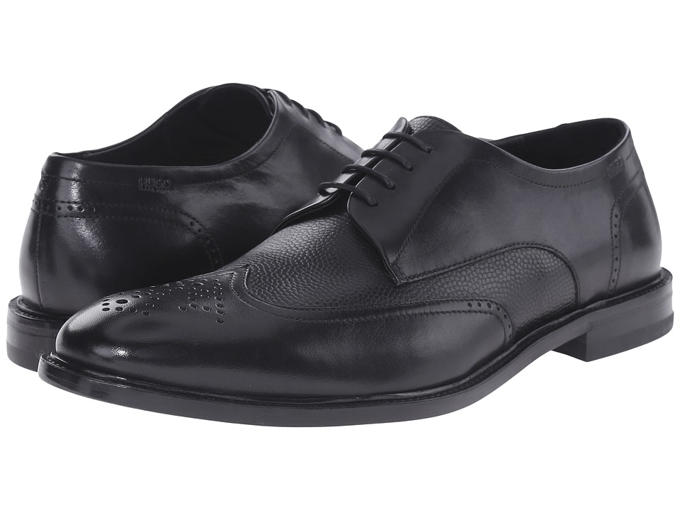 BOSS Hugo Boss - C-Urder by HUGO (Black) Men's Lace Up Wing Tip Shoes