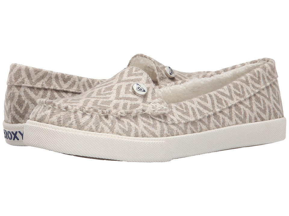 Roxy - Piccolo Fur V (Oatmeal) Women's Shoes