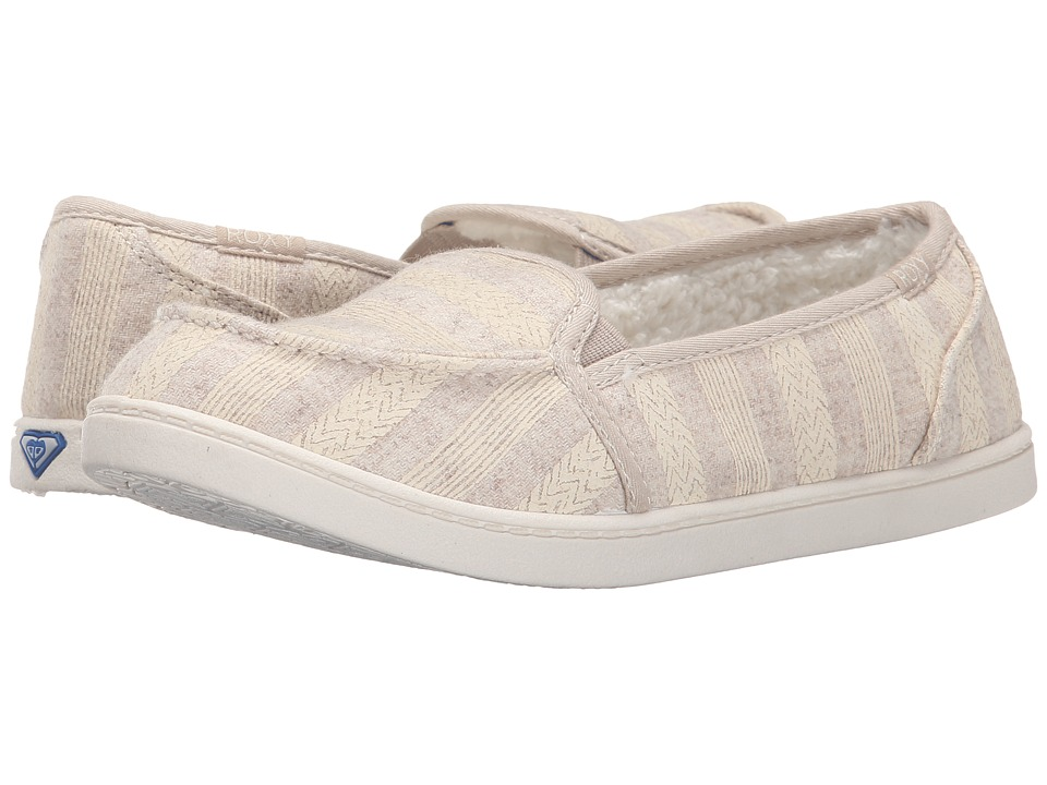 Roxy - Minnow Wool V (Oatmeal) Women's Shoes