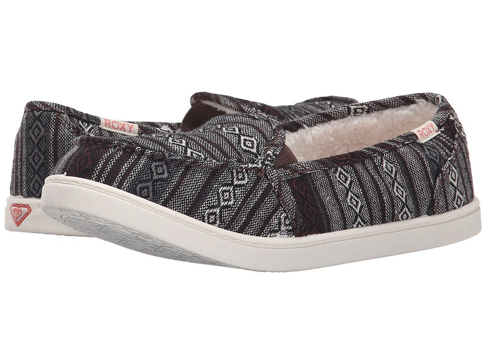 Roxy - Minnow Wool V (Black Grey) Women