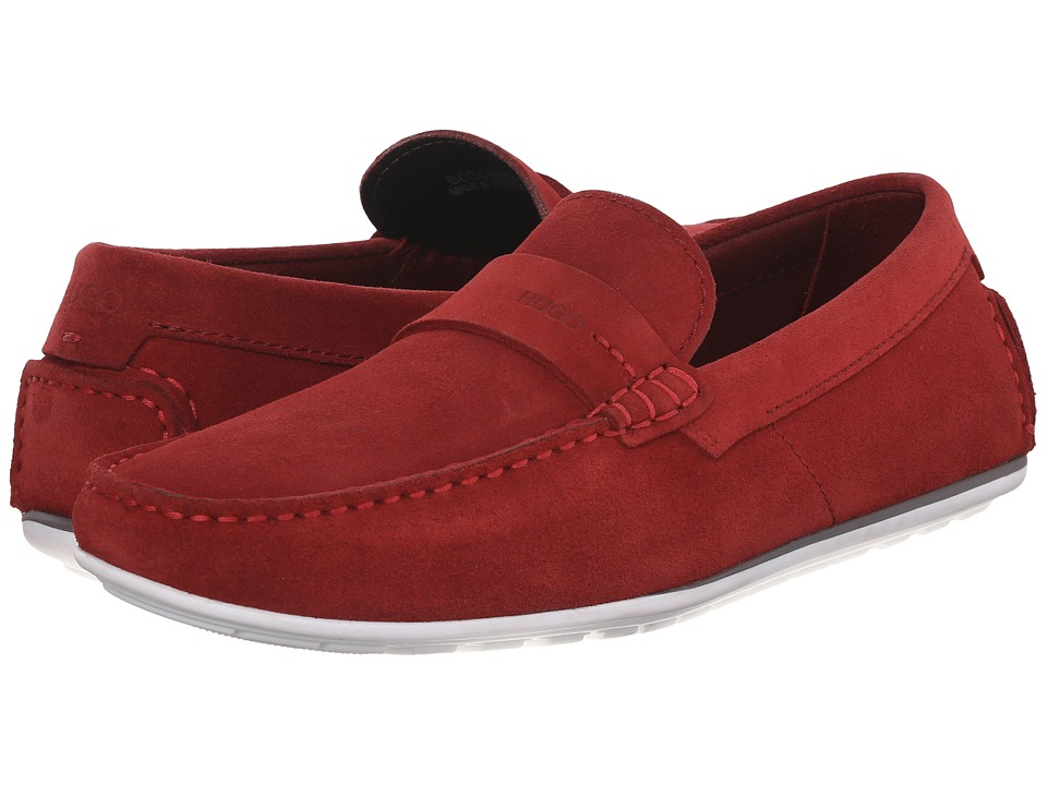 BOSS Hugo Boss - C-Traveso by HUGO (Dark Red) Men's Slip on Shoes