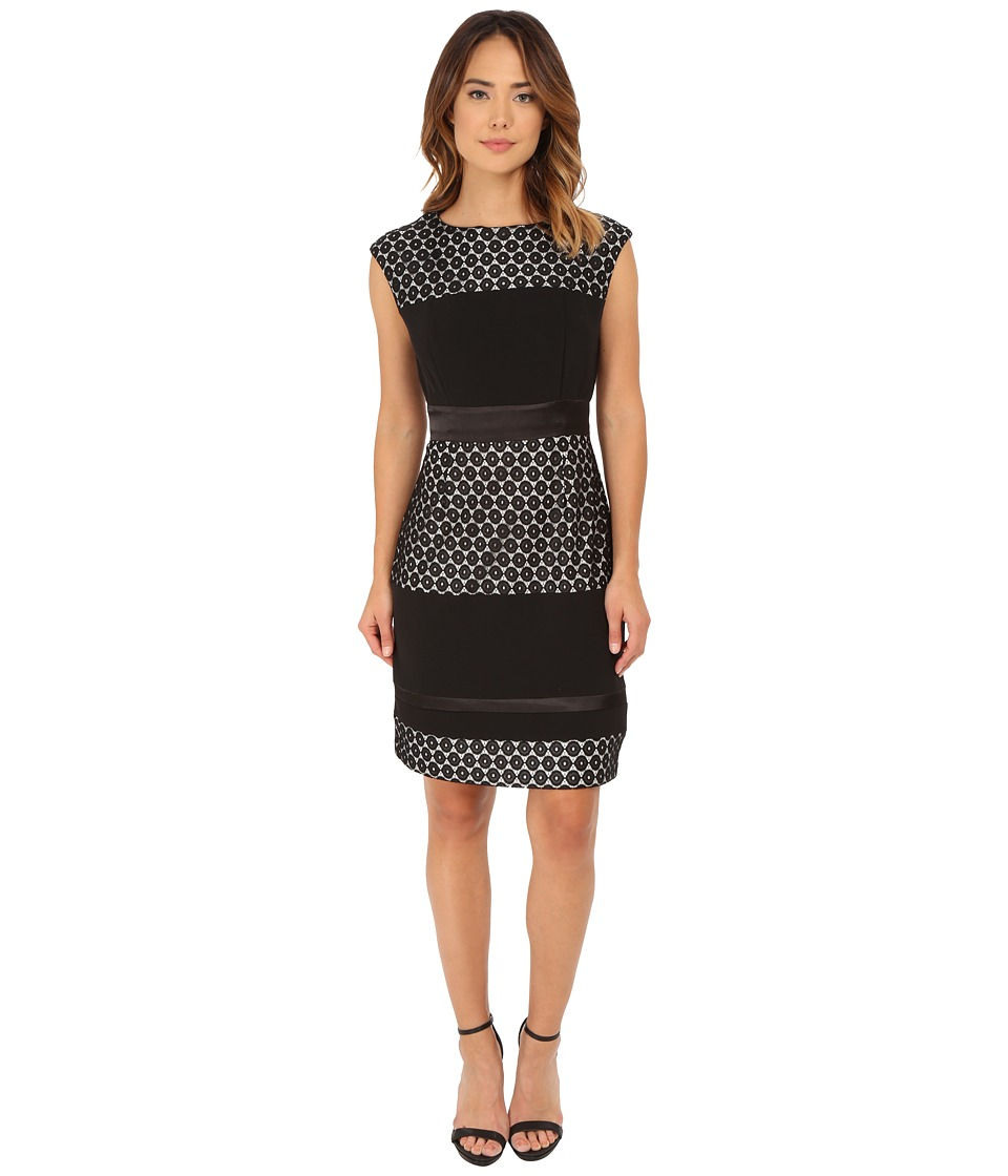 rsvp - Rennes Dress (Black/Ivory) Women's Dress