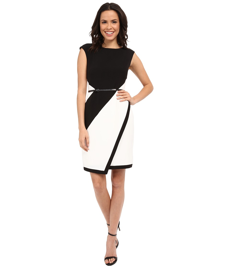 rsvp - Le Havre Dress (Black/Ivory) Women's Dress